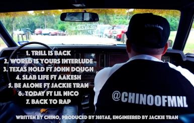Trill Back Tracklist 2